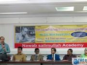 """Séminaire sur """"L'idéologie humaniste contre l'impérialisme du Président Hô Chi Minh"""" au Bangladesh"""