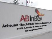 Le groupe brassicole Anheuser-Busch InBev prévoit investir près de 7 millions de dollars au Vietnam