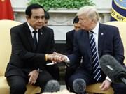 Donald Trump reçoit  le Premier ministre thaïlandais Prayuth Chan-ocha