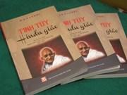 Colloque sur la philosophie de la non-violence du Mahatma Gandhi