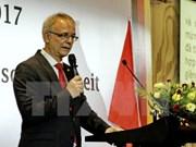 Célébration de la Journée de la Réunification de l'Allemagne à HCM-Ville