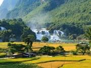 Cao Bang : la Fête du tourisme de la cascade de Ban Giôc