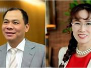 Forbes: deux Vietnamiens dans la liste des milliardaires du monde 2017