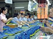Les exportations nationales de chaussures au beau fixe