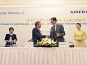 Vietnam Airlines et Air France signent une co-entreprise