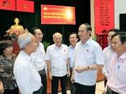 Le président Tran Dai Quang affirme la poursuite des efforts de lutte contre la corruption