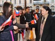 UIP-137 : Nguyen Thi Kim Ngan est arrivée à Saint-Pétersbourg
