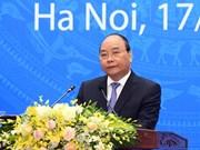 Nguyen Xuan Phuc à la cérémonie célébrant les 40 ans de l'adhésion du Vietnam à l'ONU