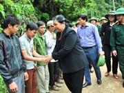 Crues: les dirigeants de l'AN  se rendent à Hoa Binh et à Yen Bai