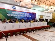 APEC 2017 : La conférence des ministres des Finances se termine
