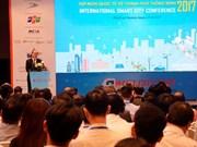 Conférence internationale sur la ville intelligente à Ho Chi Minh-Ville