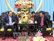 Ben Tre accueille le vice-PM laotien Sonexay Siphandone