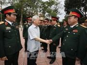 Le secrétaire général du PCV travaille avec la 4e zone militaire