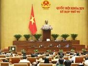 La 4e session de la 14e législature de l'Assemblée nationale poursuit ses travaux