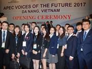 Ouverture du forum Voix du Futur de l'APEC 2017
