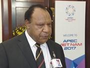 APEC 2017 : la Papouasie-Nouvelle-Guinée veut apprendre des expériences du Vietnam