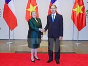 Déclaration commune Vietnam-Chili