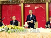 Un banquet d'Etat en l'honneur du président américain Donald Trump