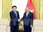 Le Premier ministre Nguyen Xuan Phuc reçoit des responsables de grands groupes de l'APEC