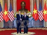 Entretien entre les présidents Tran Dai Quang et Donald Trump