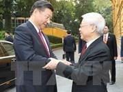 Le dirigeant chinois, Xi Jinping, effectue une visite d'Etat au Vietnam