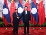Laos et Chine renforcent les relations de coopération bilatérale