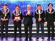 """Remise du Prix """"Talent du Vietnam""""  2017"""