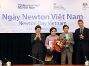 Sciences : remise des prix Newton Vietnam