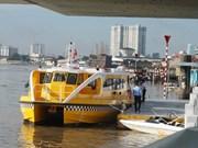Hô Chi Minh-Ville : la 1ère ligne de bateaux-bus sera opérationnelle le 25 novembre