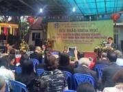 Conférence scientifique sur la pratique du culte des Déesses-Mères à Hanoï