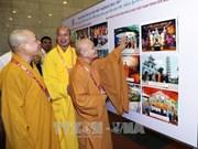 Vernissage de l'exposition sur les acquis du bouddhisme vietnamien
