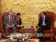 Une délégation de la Confédération autrichienne des syndicats au Vietnam