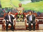 Une délégation de haut niveau de Hanoï au Laos