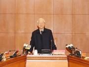 Nguyen Phu Trong demande d'accélérer la lutte contre la corruption