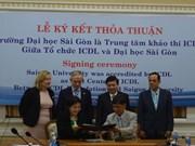 L'Université de Sai Gon reconnue comme le premier centre de l'ICDL