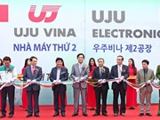 UJU Vina inaugure sa 2e usine au Vietnam