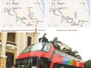 Hanoi examine l'expérimentation d'un bus touristique à deux étages