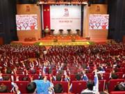 Début de la première séance du 11e Congrès national de l'UJCH