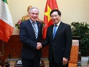 L'accord d'éducation avec l'Irlande aura des retombées positives sur l'économie vietnamienne