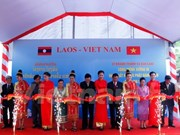 Le Vietnam aide le Laos à construire une imprimerie