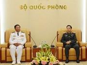Promotion des liens entre les Marines vietnamienne et cambodgienne