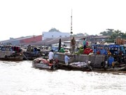 Can Tho accueille 7,5 millions touristes en 2017
