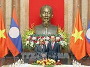 Le chef de l'Etat rencontre le dirigeant laotien Bounnhang Vorachith