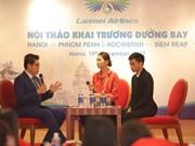 Ouverture de deux nouvelles lignes aériennes entre le Cambodge et le Vietnam