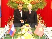 L'année de la solidarité Vietnam-Laos, un jalon d'or dans les relations bilatérales