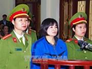 Verdict inchangé pour Tran Thi Nga pour propagande contre l'Etat