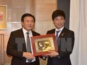 Une délégation du PCV en visite de travail au Japon