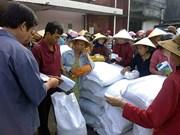 Distribution de riz pour la province de Thanh Hoa