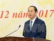 Réalisations de 2017, conditions préalables pour le développement durable du Vietnam