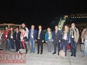 De grandes villes du pays accueillent les premiers touristes de 2018